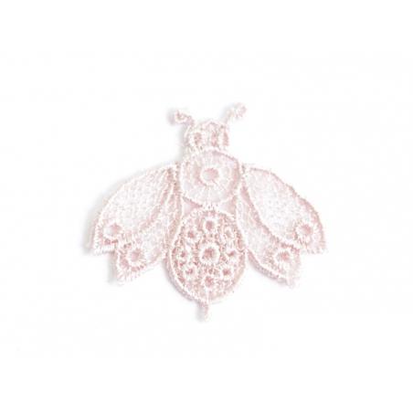 Acheter Ecusson thermocollant Abeille en dentelle - Rose poudrée - 0,99€ en ligne sur La Petite Epicerie - 100% Loisirs créa...
