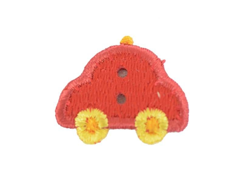 Iron-on patch / button - car