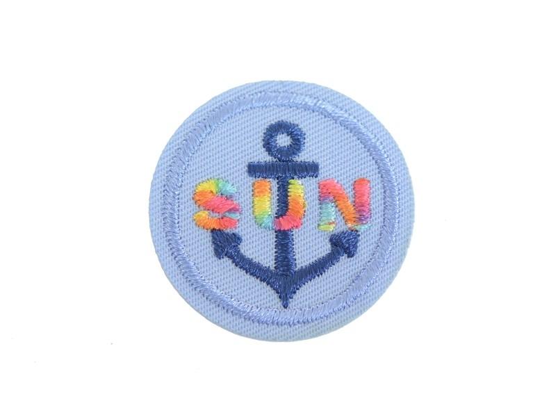 """Acheter Ecusson thermocollant Ancre marine """"Sun"""" - 0,89€ en ligne sur La Petite Epicerie - 100% Loisirs créatifs"""
