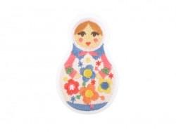 Iron-on patch - Russian nesting dolls