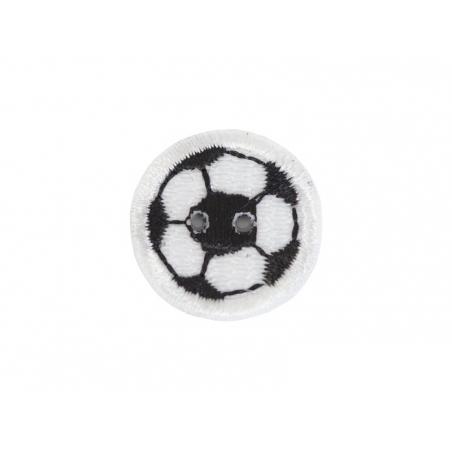 Ecusson thermocollant bouton Ballon de foot