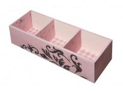 Kasten mit 3 Fächern zur individuellen Gestaltung