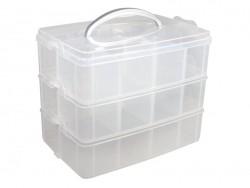 Aufbewahrungsbox mit 12 Fächern