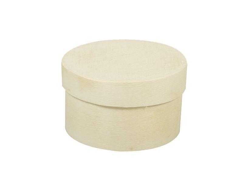 Boîte ronde en copeaux - mini Rayher - 1