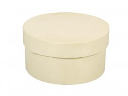 Round wooden box - medium