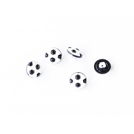 Acheter 1 Bouton ballon de foot 13 mm - 0,49€ en ligne sur La Petite Epicerie - 100% Loisirs créatifs