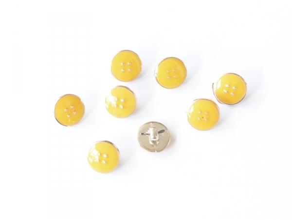 Acheter 1 Bouton plastique 11 mm - Jaune - 0,79€ en ligne sur La Petite Epicerie - 100% Loisirs créatifs