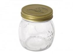 Kleines Einweckglas mit Schraubdeckel