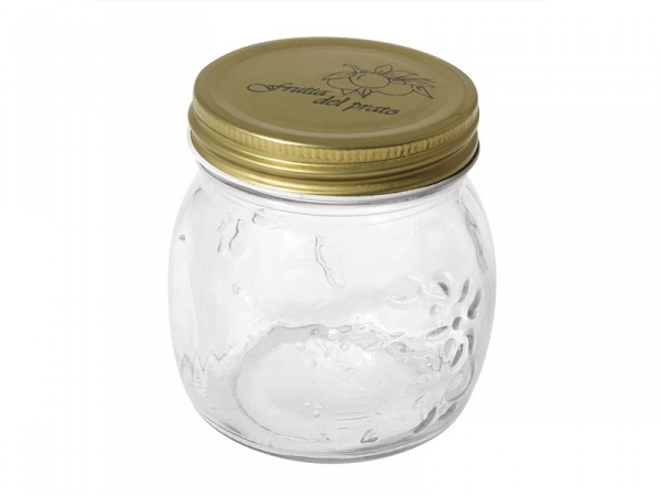 Small mason jar with a screw lid