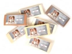 CERNIT-Modelliermasse Basic Number One - porzellanfarben, 50 % Intransparenz