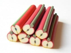 Apple cane - with a large diameter