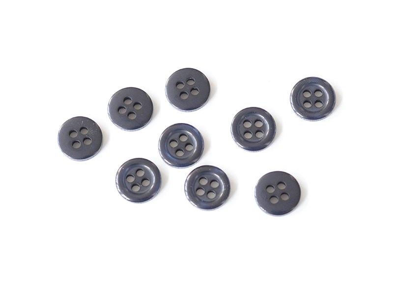 Acheter Bouton plastique 4 trous 11 mm - Bleu marine - 0,29€ en ligne sur La Petite Epicerie - Loisirs créatifs