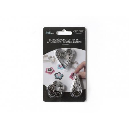 Acheter 15 petits emporte-pièces - 6,90€ en ligne sur La Petite Epicerie - 100% Loisirs créatifs