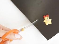 Self-adhesive magnetic sheet