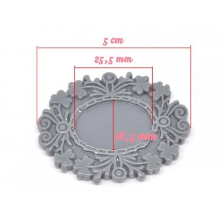 Acheter Support pour cabochon NOIR  - 2,39€ en ligne sur La Petite Epicerie - Loisirs créatifs
