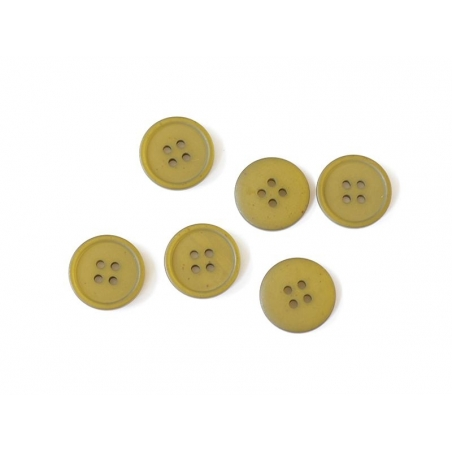 Acheter Bouton plastique 4 trous 20 mm - Vert kaki - 0,59€ en ligne sur La Petite Epicerie - 100% Loisirs créatifs