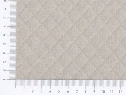 Quilted jersey fabric - Haze
