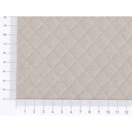Acheter Tissu jersey matelassé - Brume - 1,89€ en ligne sur La Petite Epicerie - 100% Loisirs créatifs