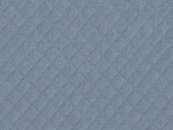 Quilted jersey fabric - Blue