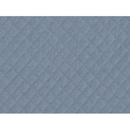 Acheter Tissu jersey matelassé - Bleu - 1,89€ en ligne sur La Petite Epicerie - 100% Loisirs créatifs