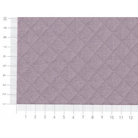 Quilted jersey fabric - Fig