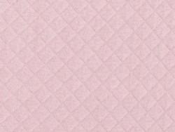 Tissu jersey matelassé - Rose