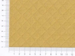 Quilted jersey fabric - Mustard