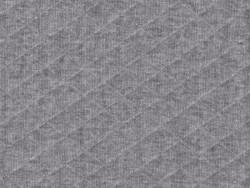 Acheter Tissu jersey matelassé - Gris - 1,89€ en ligne sur La Petite Epicerie - 100% Loisirs créatifs