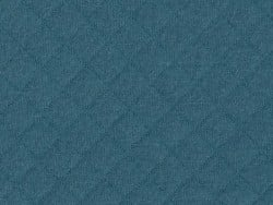 Quilted jersey fabric - Teal