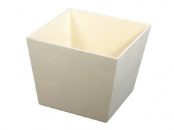 Customisable wooden plant pot