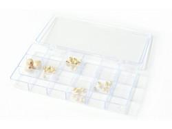 Aufbewahrungsbox mit 18 Fächern