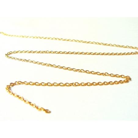 Acheter Chaine forçat dorée 3 mm x 20 cm - 0,39€ en ligne sur La Petite Epicerie - 100% Loisirs créatifs