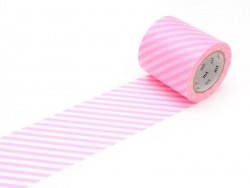 Casa Masking Tape - Neon pink stripes