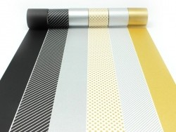 Casa Masking Tape - Silver-coloured stripes