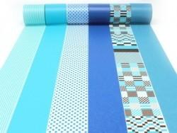 Masking tape Casa - Bleu