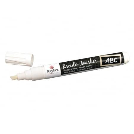 Acheter Marqueur craie - blanc - 3,99€ en ligne sur La Petite Epicerie - 100% Loisirs créatifs