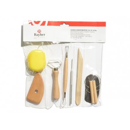 Acheter Set de 8 Outils de modelage - 16,90€ en ligne sur La Petite Epicerie - Loisirs créatifs