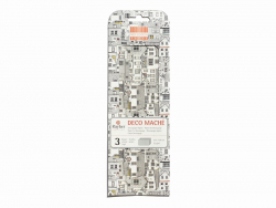 Décopatch-Papier - Giraffenmuster