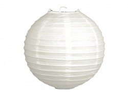 2 paper lanterns - with a diameter of 20 cm