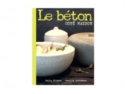 """French book """" Le béton - Côté maison"""""""