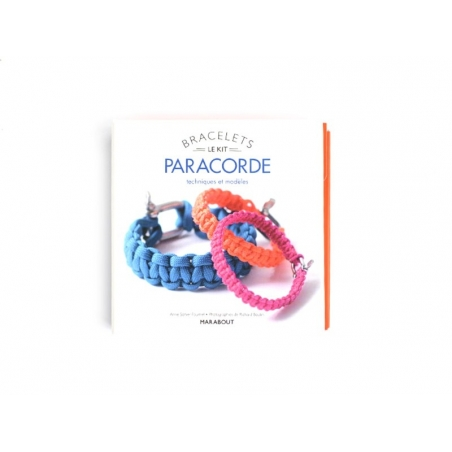 "French book "" Kit Bracelets Paracorde"""