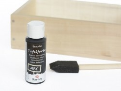 Blackboard paint - black