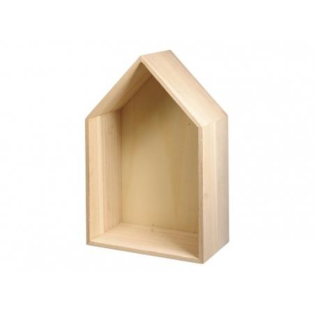 Acheter Cadre en bois maison à customiser - petit - 8,50€ en ligne sur La Petite Epicerie - 100% Loisirs créatifs