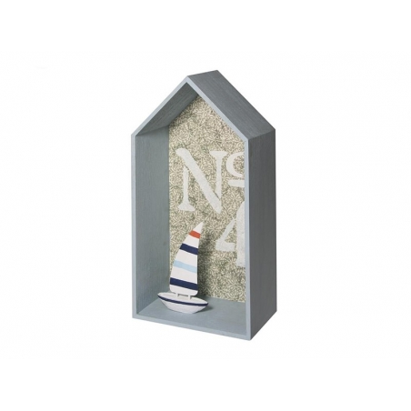 Acheter Cadre en bois maison à customiser - grand - 8,50€ en ligne sur La Petite Epicerie - 100% Loisirs créatifs