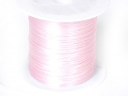 12 m of shiny elastic cord - nude