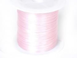 12 m of shiny elastic cord - nude