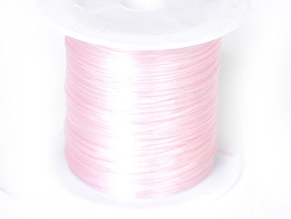 Acheter 12 m de fil élastique brillant - Rose chair - 1,59€ en ligne sur La Petite Epicerie - Loisirs créatifs