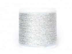 Bobine 50 m de fil à broder - argent Rico Design - 3