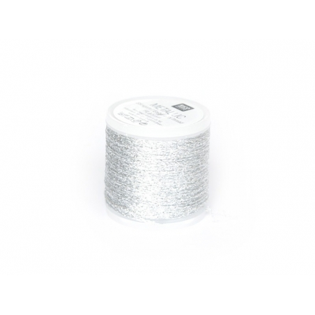 Acheter Bobine 50 m de fil à broder - argent - 4,50€ en ligne sur La Petite Epicerie - 100% Loisirs créatifs