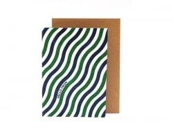 Carte Vagues - Papier Tigre